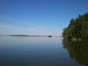 Landet sjön
